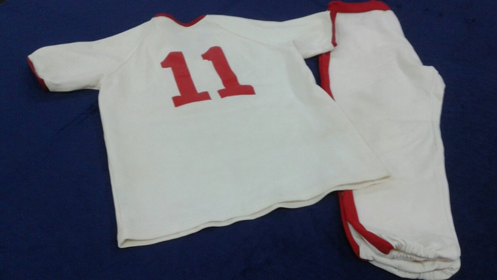 Redbirds Uniform Back